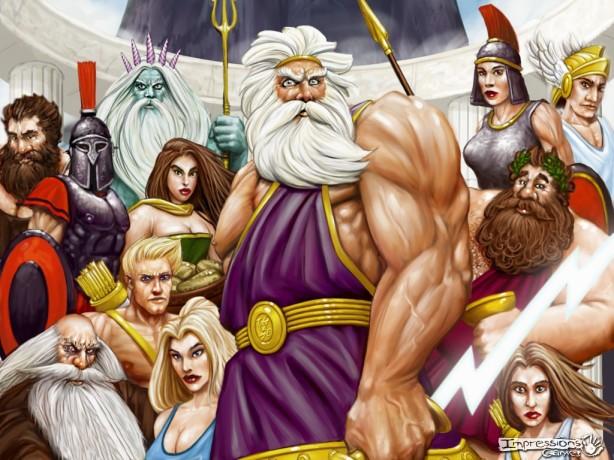 Greek Group gods
